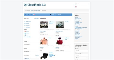 Dj Classifieds Easysocial Stream And Notifications App Easysocial Application Directory Dj Classifieds Template