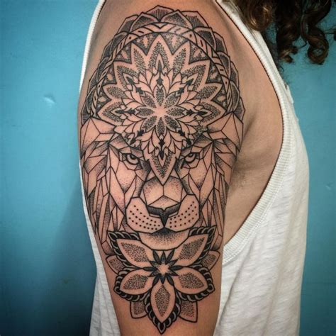 lion mandala tattoo 17 best ideas about geometric on