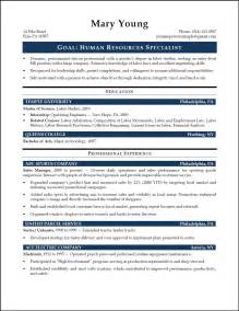 Resume Sample Hr by Hr Specialist Sample Resume Resumepower