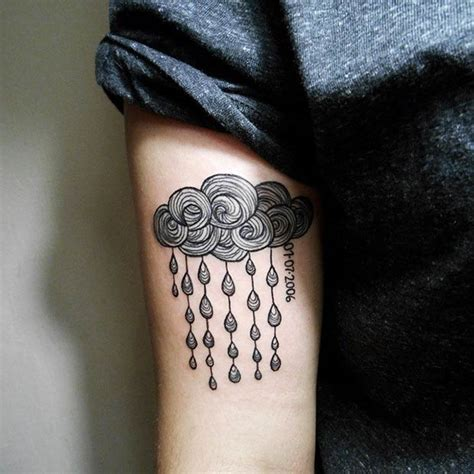 23 cute cloud tattoo designs and ideas stayglam