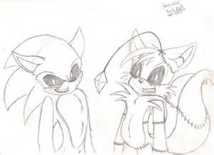 sonic exe and tails doll by sonicwerehoglover124 on deviantart