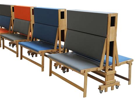 fold bench piet hein eek long folding bench for verkadefabriek