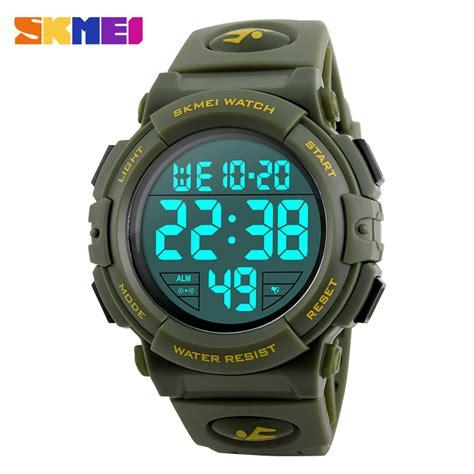 Army Sport Sporty skmei jam tangan sporty pria dg1258 army green