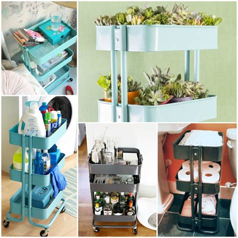 raskog cart ideas 16 reasons you totally need an ikea raskog cart in every room