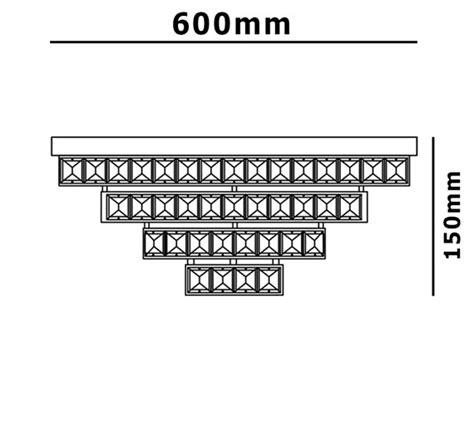 lada soffitto design xl lada da soffitto cristallo led ladario plafoniera