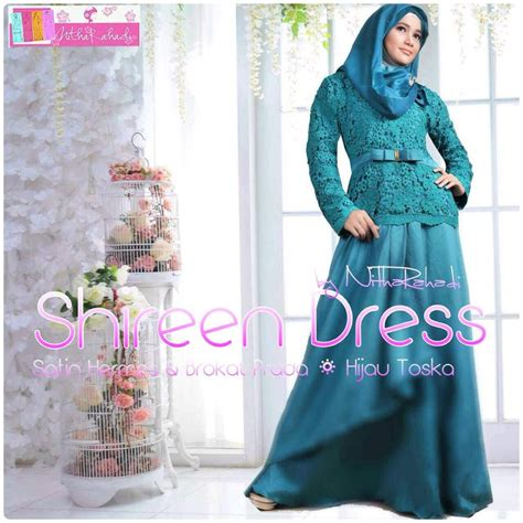 Baju Murah Shireen Set 2 In 1 kebaya modern dan baju pesta artis shireen dress made by