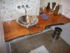 wood slab vanity wood slabs