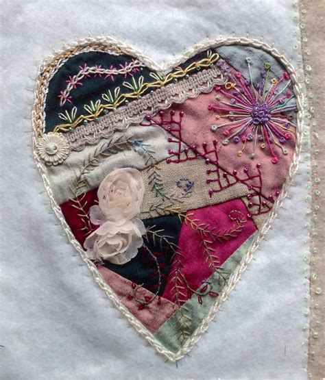 Patchwork Hearts - fibre n stuff