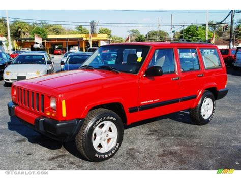 flame red jeep 2001 flame red jeep cherokee sport 27066886 gtcarlot
