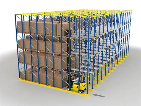 Drive In Drive Through Racking System by Drive In Drive Through Pallet Racking System Snr