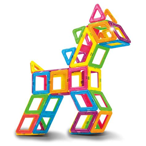 House Design 3d by Magformers Neon Color Set Buy Online Magnetic