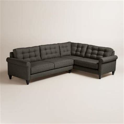 kendall fog sofa fog gray kendall sofa world market
