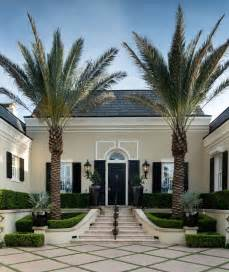 Country Floor Plans With Porches elegant regency style palm beach villa combines classic