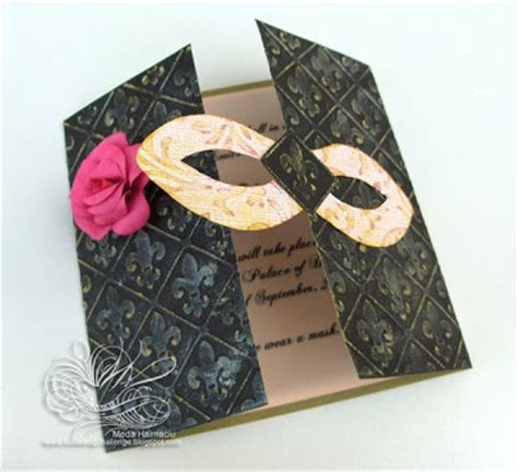 Handmade Masquerade Invitations - diy centerpieces on sweet 16 centerpieces