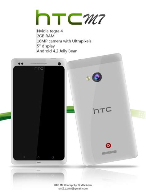 Hp Htc Concept htc m7 tegra 4 phone concept phones
