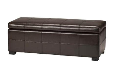 safavieh hudson collection williamsburg brown leather large storage safavieh hudson collection williamsburg brown leather large storage bench furniturendecor