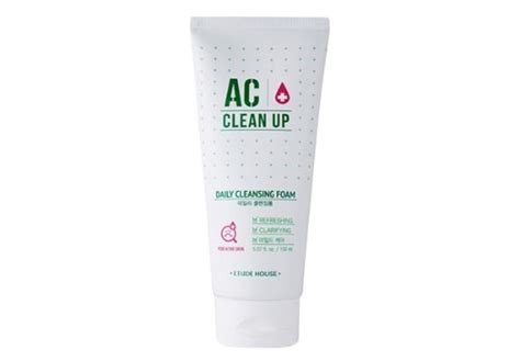 Etude House Ac Clean Up Acne Daily Cleansing Foam 150ml очищающая пенка для проблемной кожи etude house ac clean up daily cleansing foam очищение и
