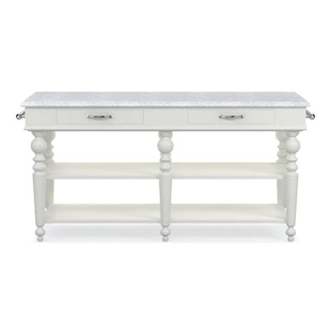 larkspur marble top kitchen island williams sonoma