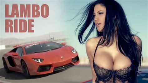 Sexy Jesse   Lamborghini Ride