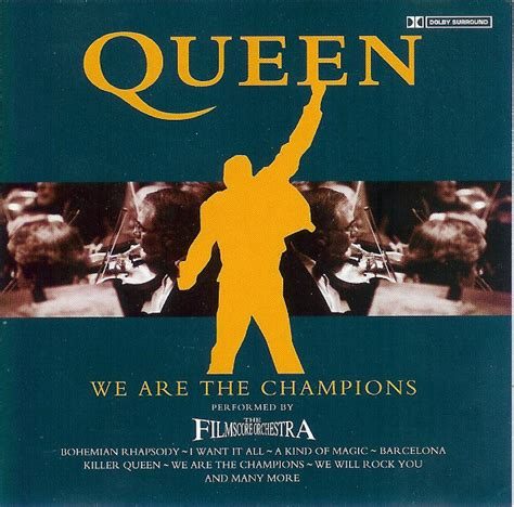 film queen uscita the film score orchestra queen we are the chions cd