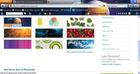 themes in mozilla free download firefox personas mozilla firefox free download