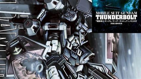 new mobile suit gundam new gundam anime announced mobile suit gundam thunderbolt