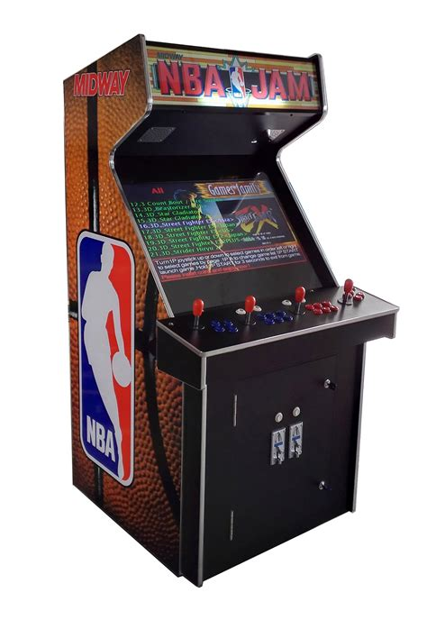arcade machine cabinet for sale arcade rewind 3500 in 1 upright arcade machine with nba jam
