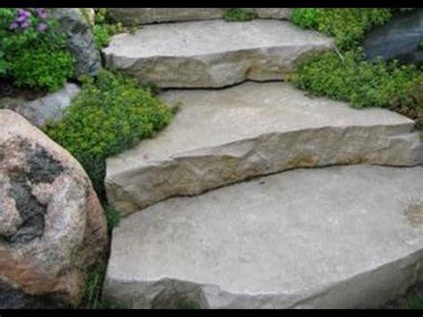 garten treppenstufen setzen treppe selber bauen beton treppe selber bauen garten