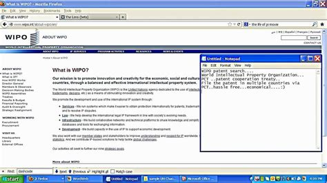 Wipo Search Patent Searching In Wipo