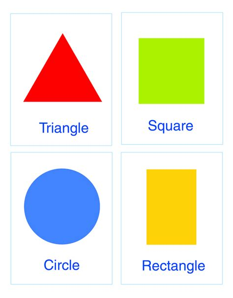 colored shapes colors shapes
