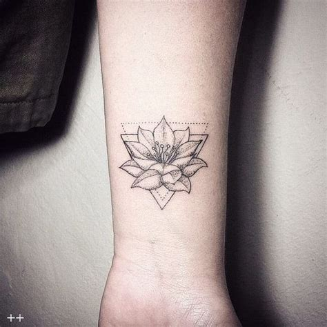 flower tattoo designs for wrists best 25 lotus wrist ideas on lotus