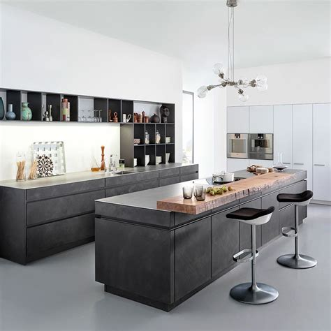 concrete kitchen design concrete kitchen designs that bring contemporary and sleek