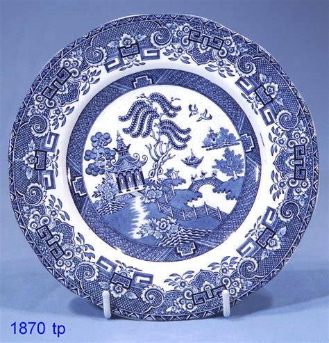 plate patterns wedgwood co willow pattern vintage china tea plate