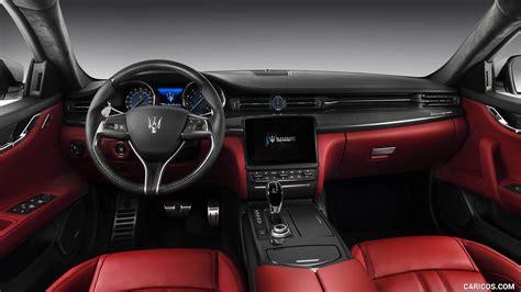 maserati models interior 2017 maserati quattroporte gts gransport interior