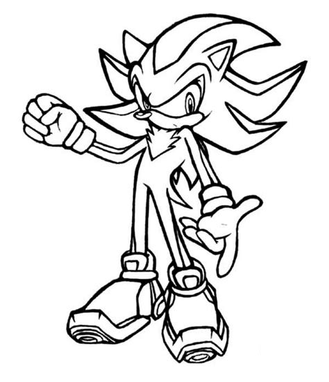 Shadow Sonic Coloring Pages Sonic Coloring Pages Shadow Coloring Beach by Shadow Sonic Coloring Pages