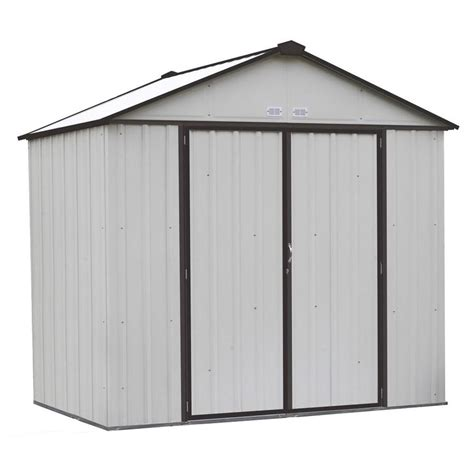 7 X 5 Metal Shed by Shop Arrow Common 8 Ft X 7 Ft Interior Dimensions 7 5
