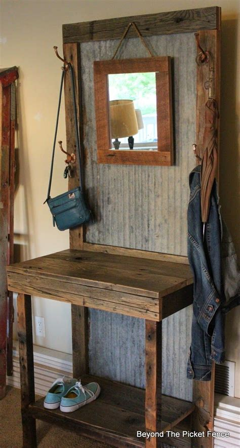 coat bench furniture 25 best ideas about rustic hall trees on pinterest