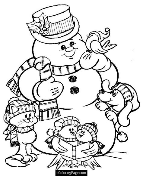 Merry Christmas Color Pages Az Coloring Pages Merry Coloring Pages Snowman