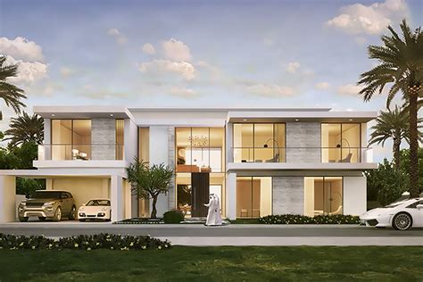 Modern Mansion Floor Plan the parkway vistas villas at dubai hills the parkway vistas