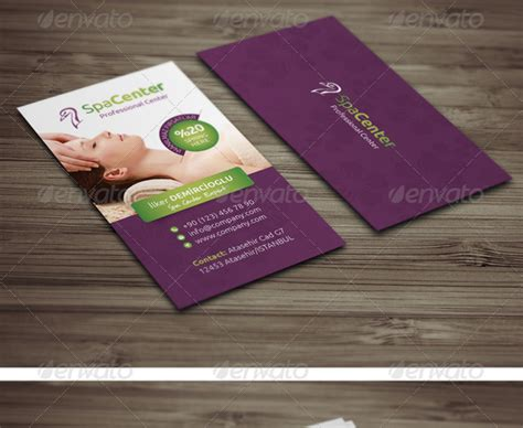 Spa Gift Card - 20 best beauty salon and spa business cards designmaz