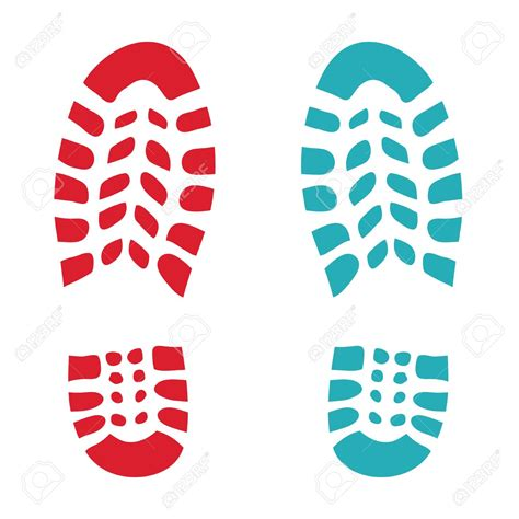 shoe print 28 images shoe print clip at clker vector