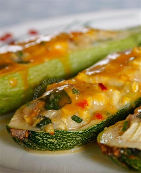 cheesy chicken stuffed zucchini casa veneracion
