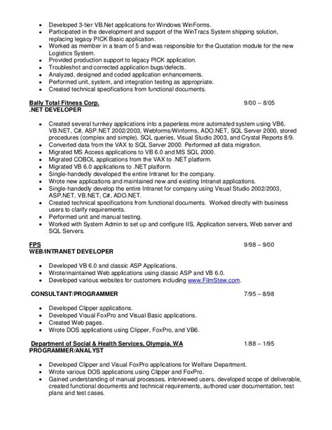 sharepoint developer resume 28 images sharepoint