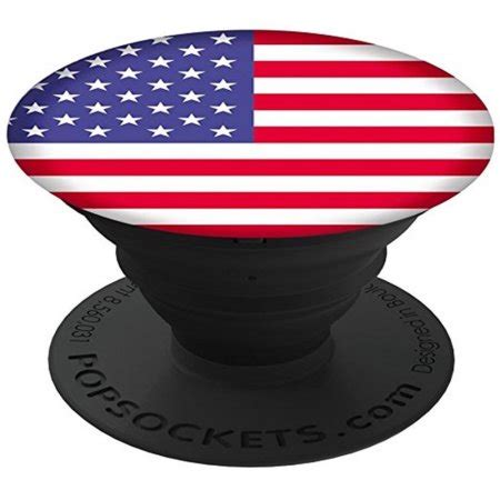 Popsockets Ori Usa 6 popsocket phone grip stand with american flag pattern for cell phones accessory by