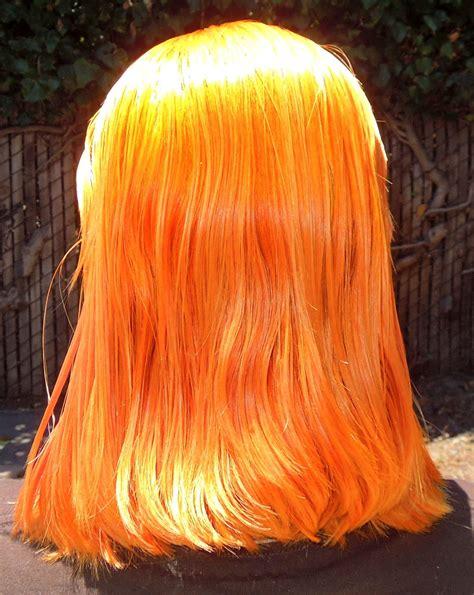 Miranda Hair Color 100gr Orange henna hair dye turned orange makedes