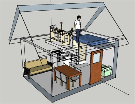 Small House Plans Under 1200 Sq Ft by Funky Dwellings Builds Tiny Houses