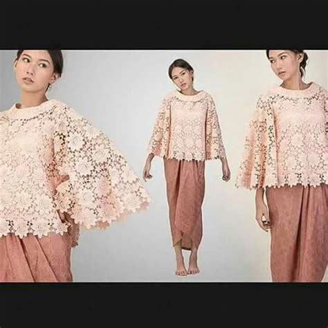 13 Dress Brukat Batik kebaya prada and brokat on