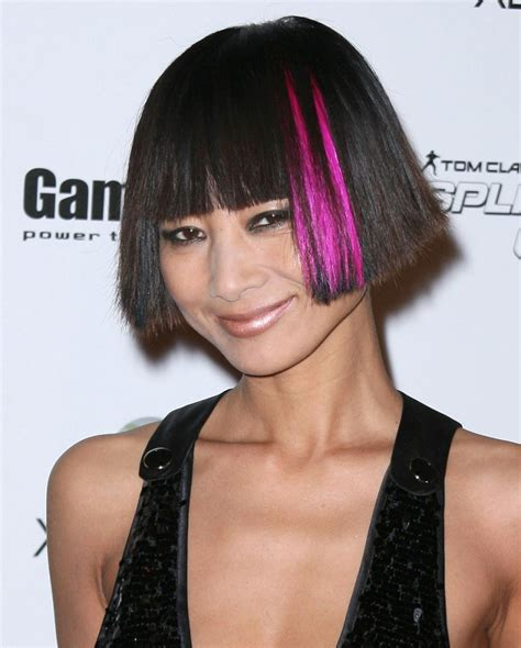 black hair dos ling in the back short in the top 17 stylish celebrity hairstyle trends for 2011 bai ling