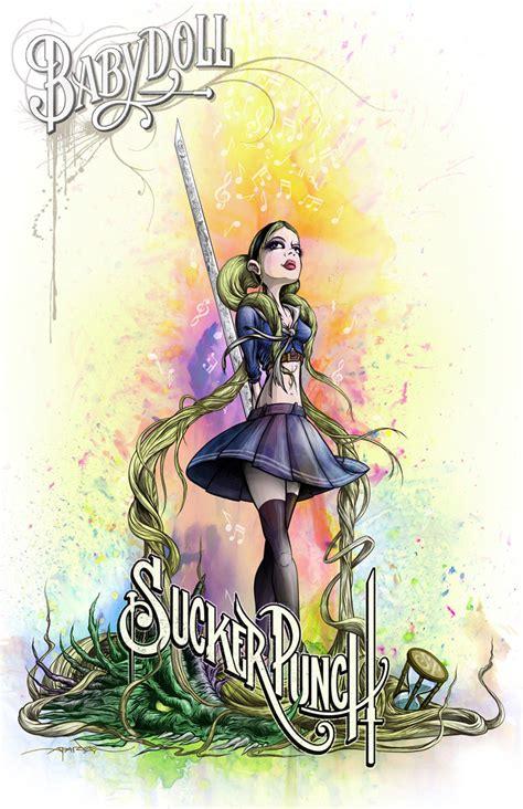 libro sucker punch the art photos sucker punch character poster art by alex pardee starcasm net