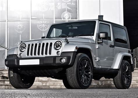 Silver Jeep Jk Project Kahn Launches Silver Jeep Wrangler Autoevolution